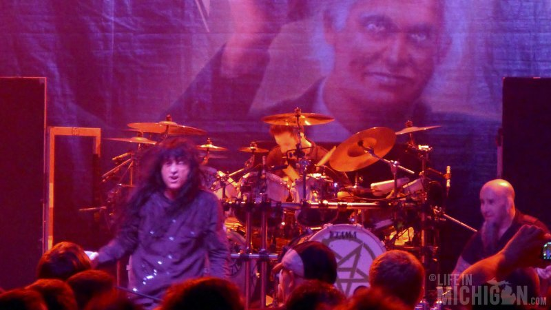 Joey, Charlie and Scott of Anthrax