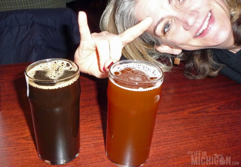 Brenda rocks out with the Brown and Porter offerings