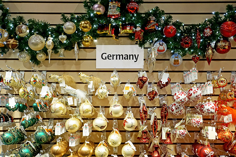 ornaments from Germany