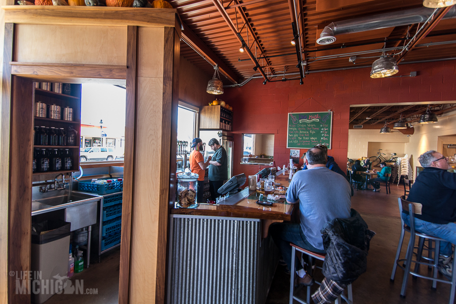 Shorts Brewing in Bellaire - Grand Traverse Bay Beer Tour