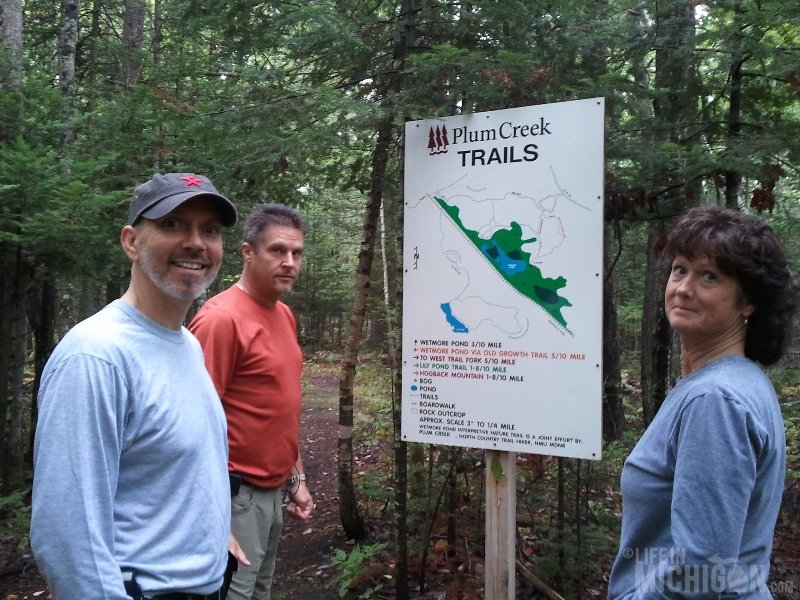 Hogback Mountain Hike Trail Head