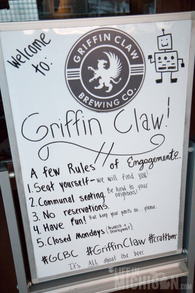 At Griffin Claw they like you to keep your pants on