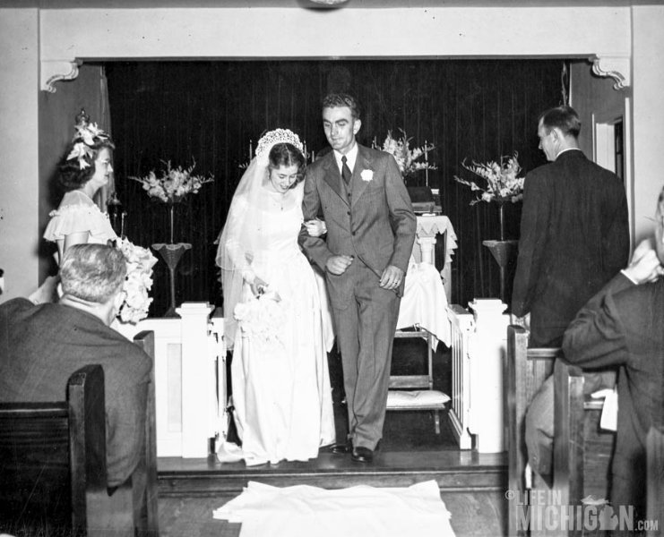 Betty and L.Dean Sodt Just married
