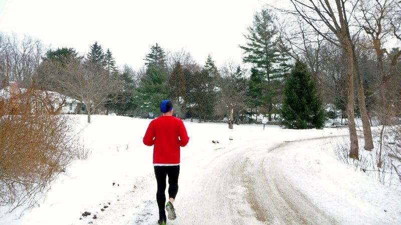 Michigan Winter Running