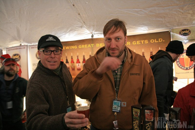 Founder's serving up some great beers!