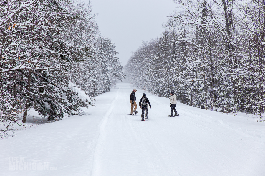 Pictured Rocks Snowshoe - U.P. Winter - 2014 - 12