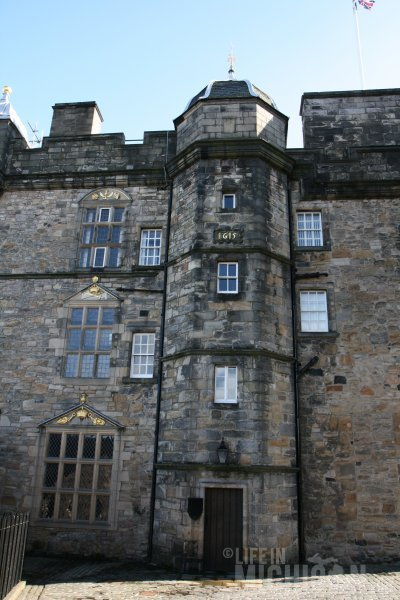 1615 Renovation of Edinburgh Castle