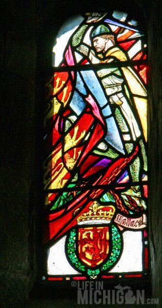 William Wallace in St. Margare's Chapel - Edinburgh Castle