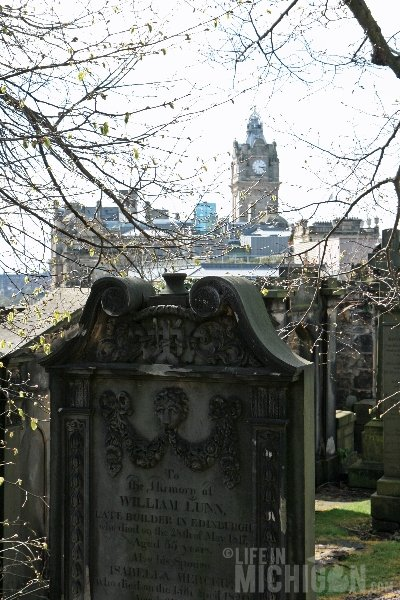 Cemetery Edinburgh Scotland