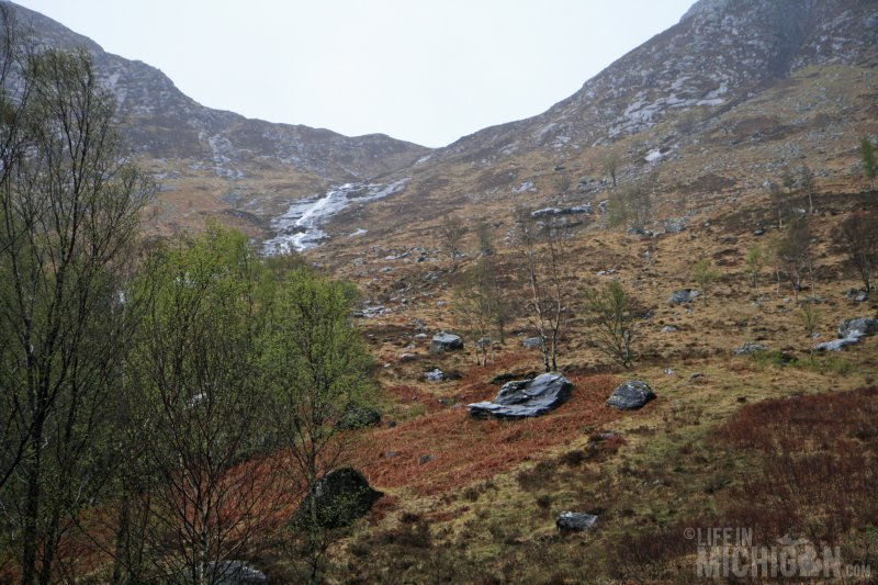 Starting out on the Ring of Steall