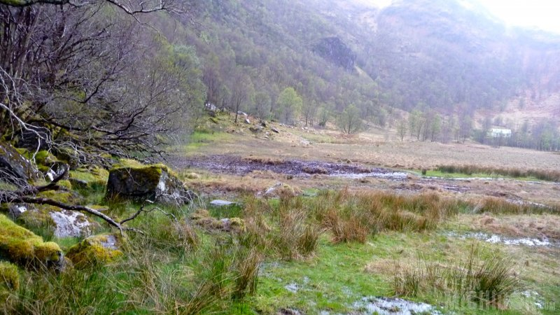 The dreaded bog of Steall