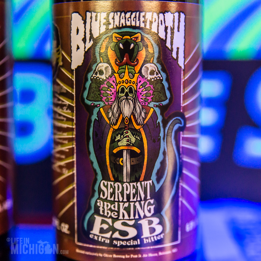 Blue Snaggletooth - Serpent and the King ESB release - 2015-12