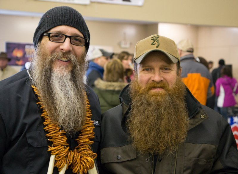 Lyman and his bud from the Jackson Beard & Moustache Club