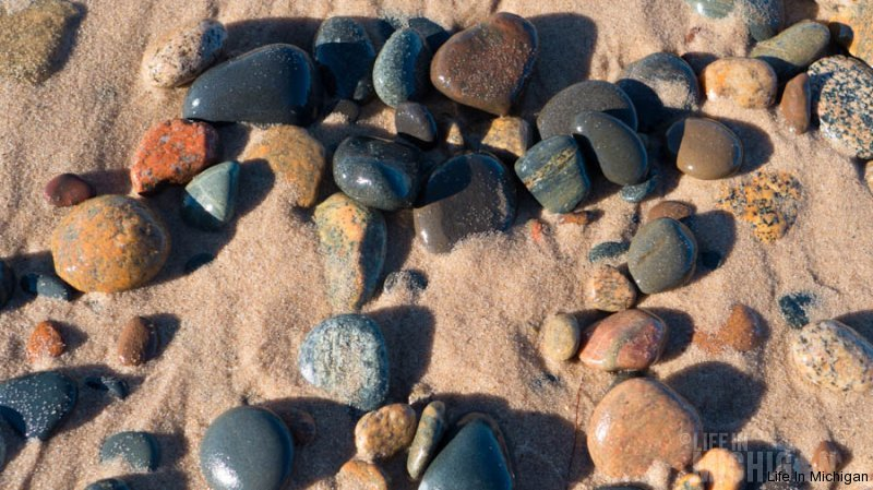 More stone art at Whitefish Point