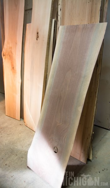 Tree Purposed Detroit - Black Walnut