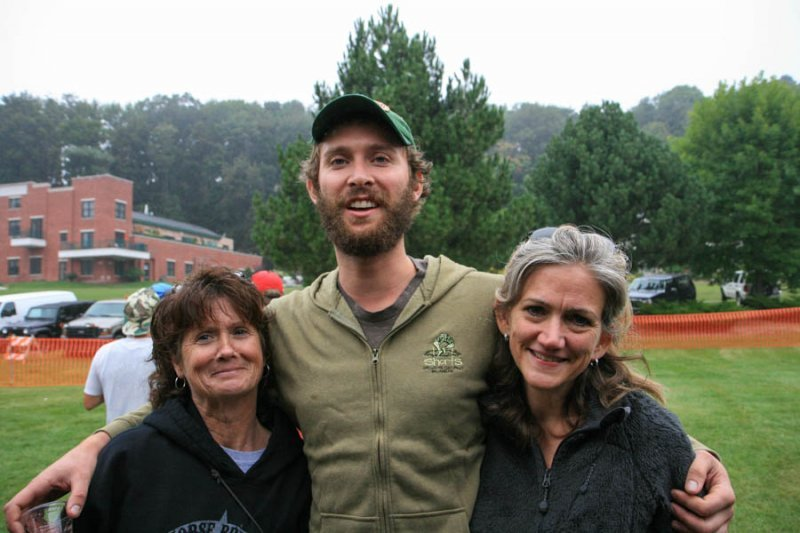 Andy (Blackrocks) with Angie and Brenda