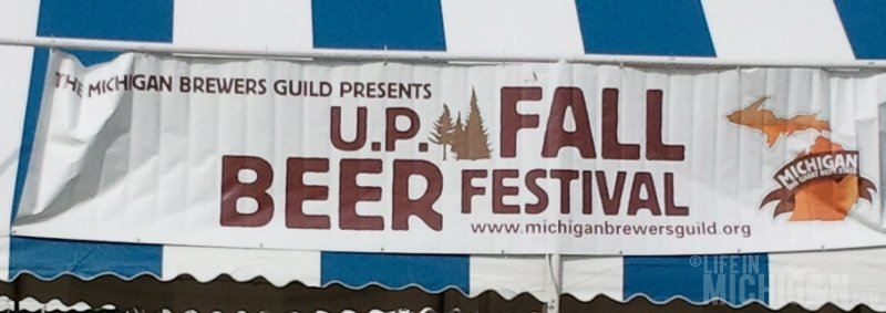 UP Beer Festival Sign