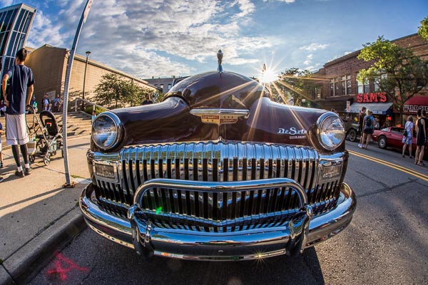 Rolling Sculpture Car Show in Ann Arbor 2017