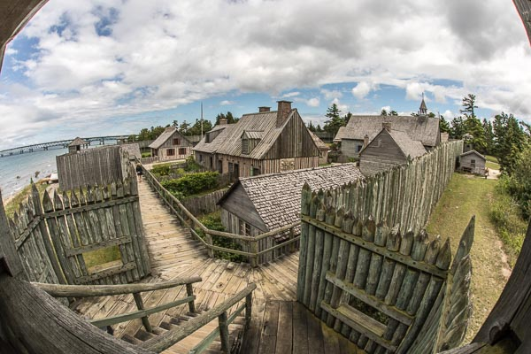 A Tour of Colonial Michilimackinac