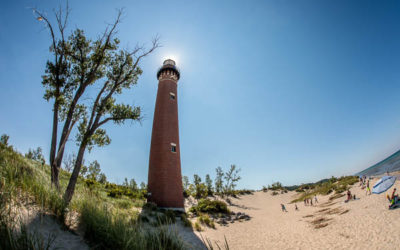 Little Sable Point Lighthouse in Mears Michigan
