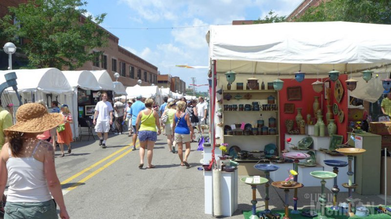 Plenty of art at the Ann Arbor Art Fairs