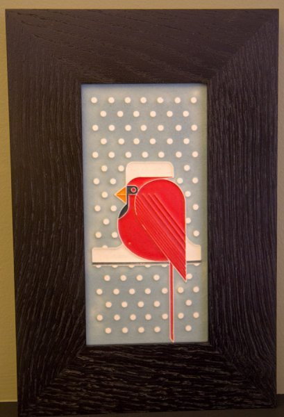 Motawi - Snowy Cardinal - Brenda's fav