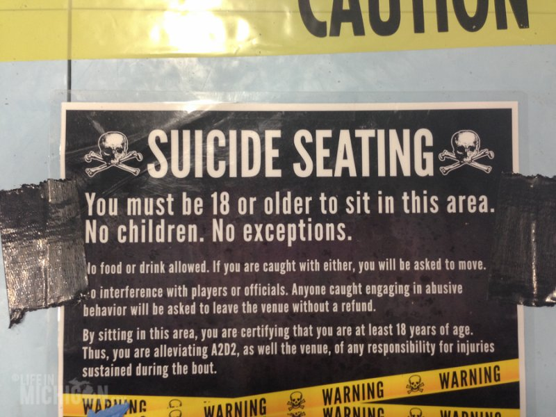 Suicide Seating
