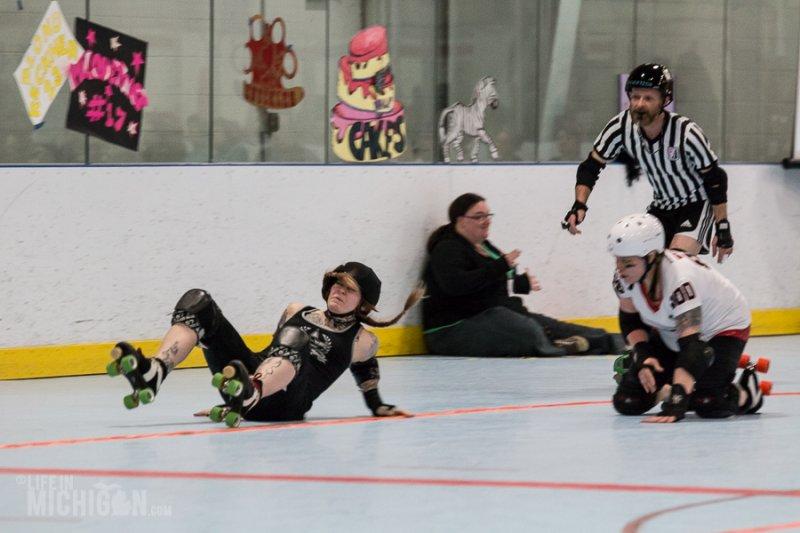 Arbor Bruising Company vs Fort Wayne Derby Girls