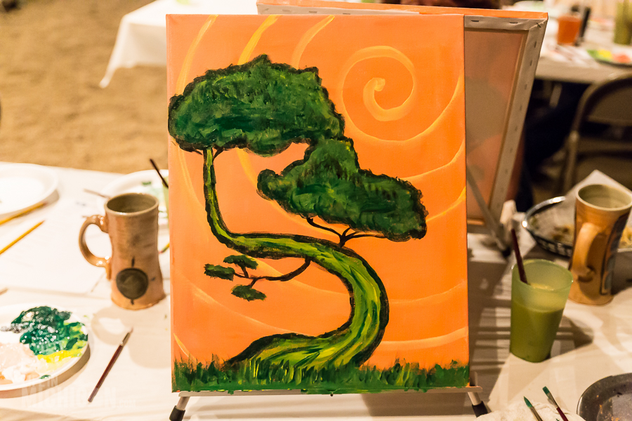 Beer and Brushes - Dark Horse - 2015-28