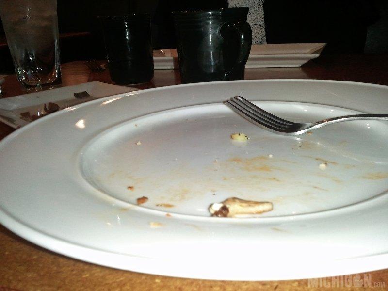 Clean plate award at Poppycocks