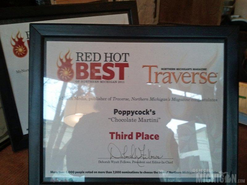 Poppycock's Restaurant, Traverse City, Michigan
