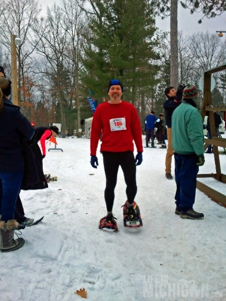 Chuck Marshall -- Bigfoot Boogie Snowshoe race