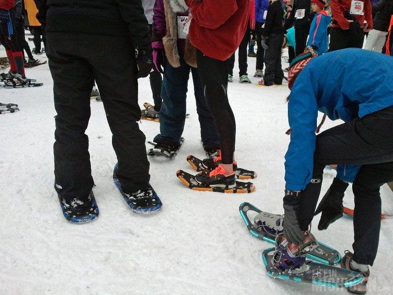 Bigfoot Boogie Snowshoe Race -- Prerace