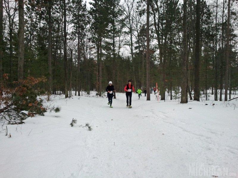 Bigfoot Boogie Snowshoe Race --  Snowshoers