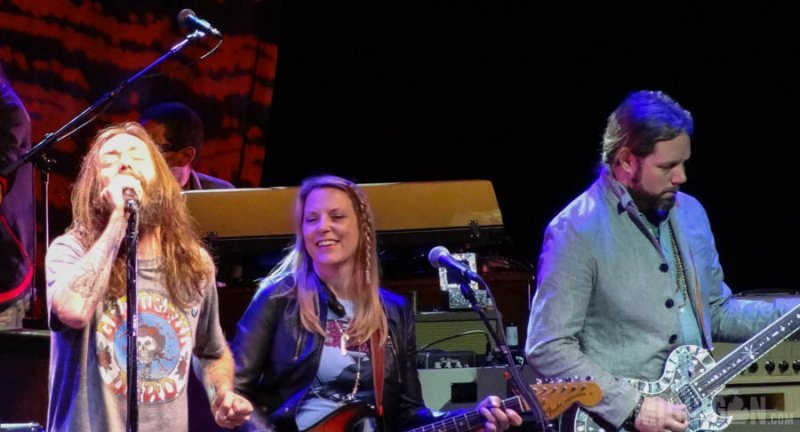 Chris Robinson and Susan Tedeschi - Black Crowes