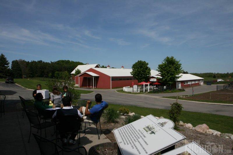 Farm life at Black Star Farms