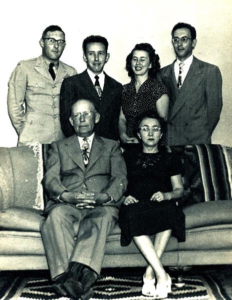 Albert and Lulu Brown Family