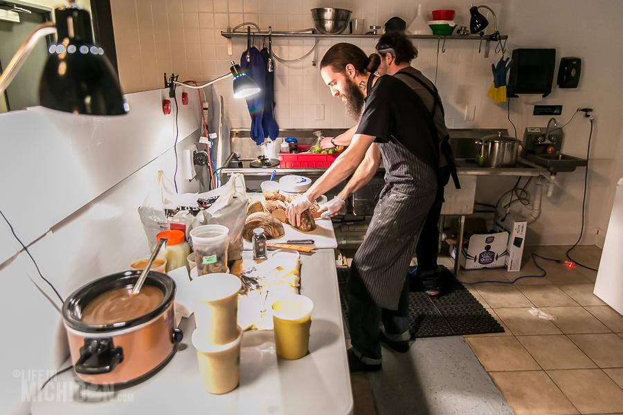 Canton Brew Works - Pop Up Dinner - 2016-12