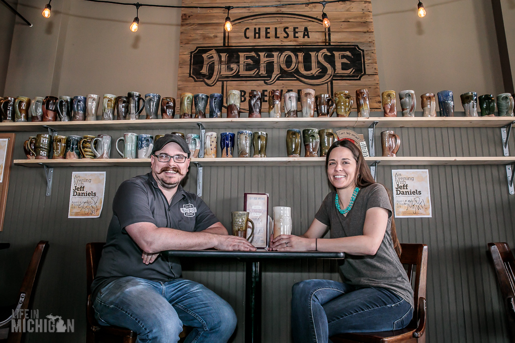 Chris and Aubrey - Chelsea Alehouse