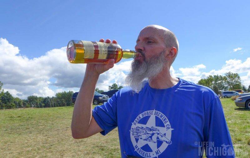 Chuck enjoys Tomintoul Scotch :)