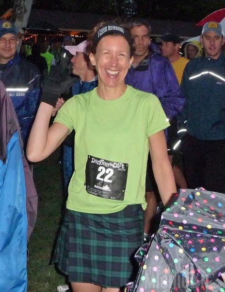 Ann Winters pre-race