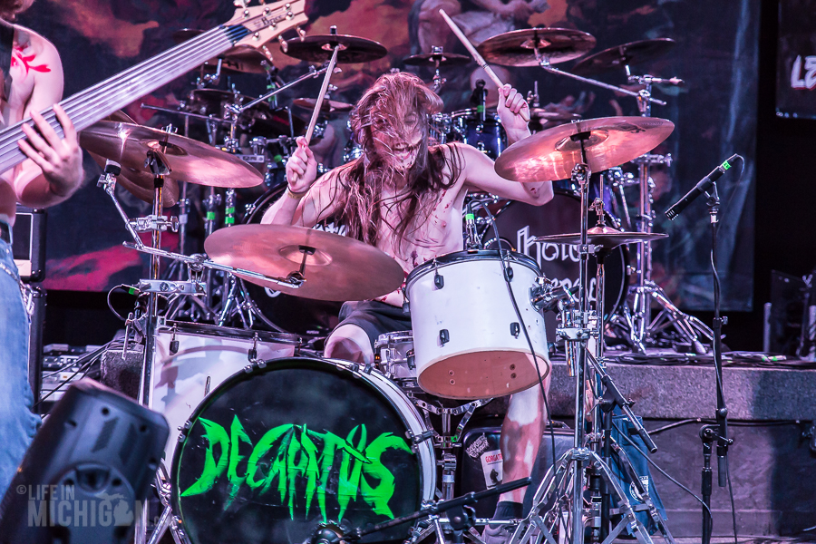 Decapitus - Fall Metal Fest 6 on 1-Nov-2015