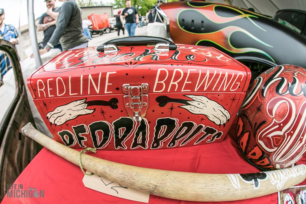 DedRabbits Lowbrow Artshow @ Redline Brewing