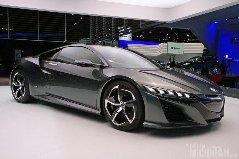 Acura NSX hybrid nice!