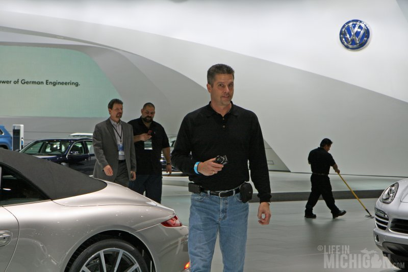 Jeff is amazed at the cars