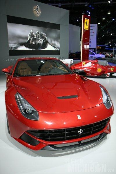 Ferrari F12 looking HOT