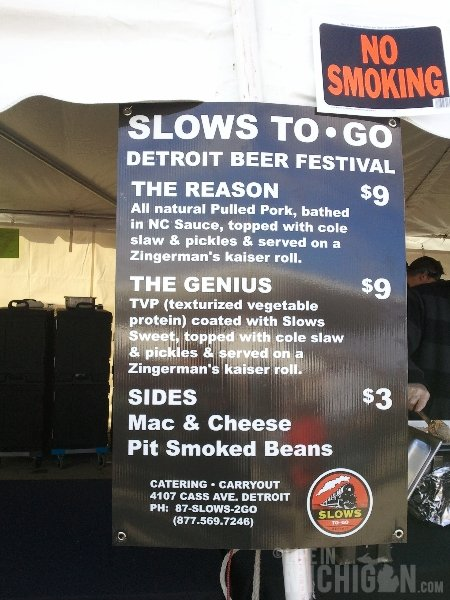 Slows menu