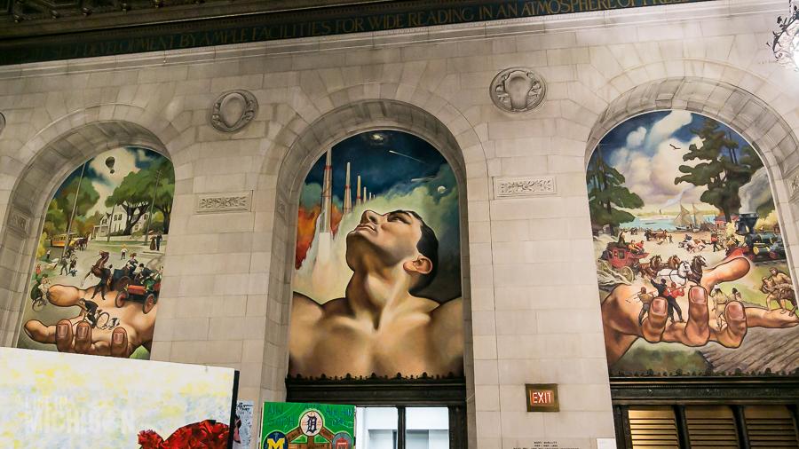 Detroit Public Library - 2015-12