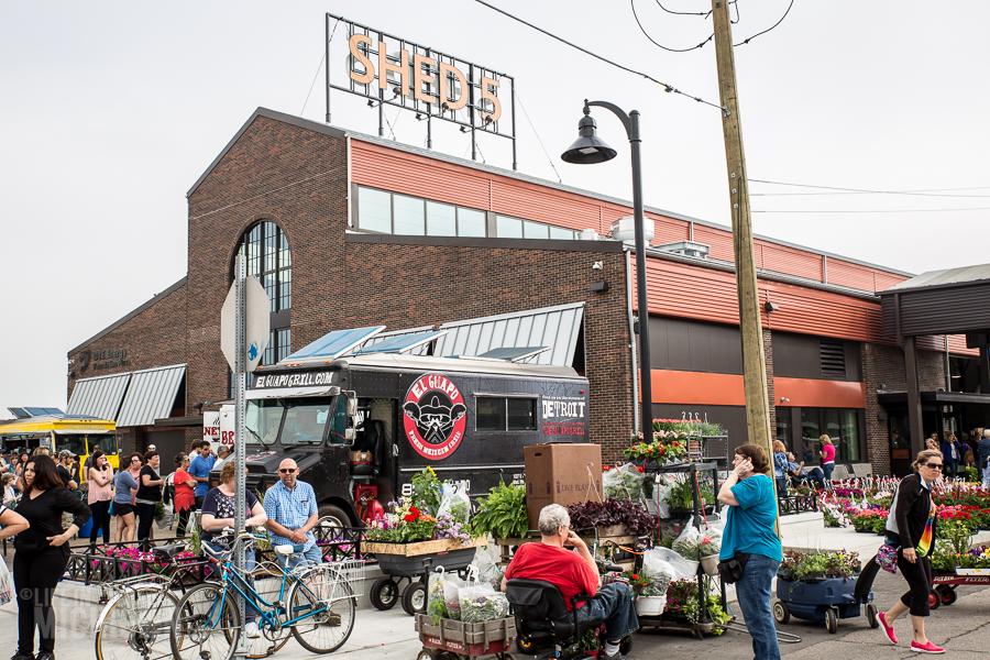 Detroit's Eastern Market Flower Day - 2015-14