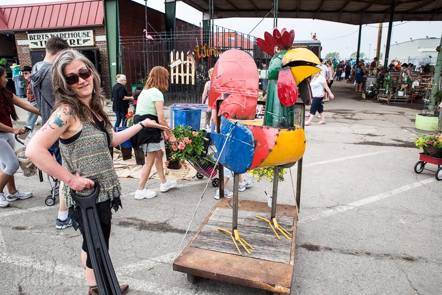 Detroit's Eastern Market Flower Day - 2015-17